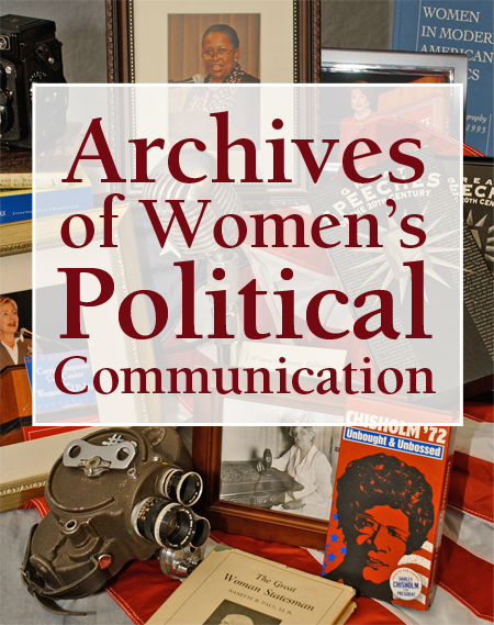 Archives of Women's Political Communication graphic