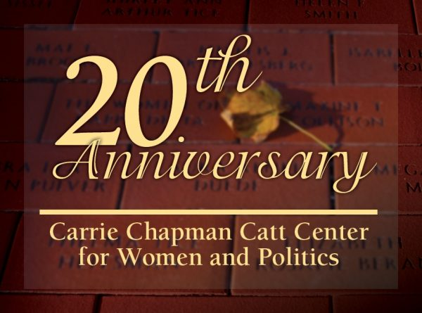 Catt Center 20th Anniversary logo