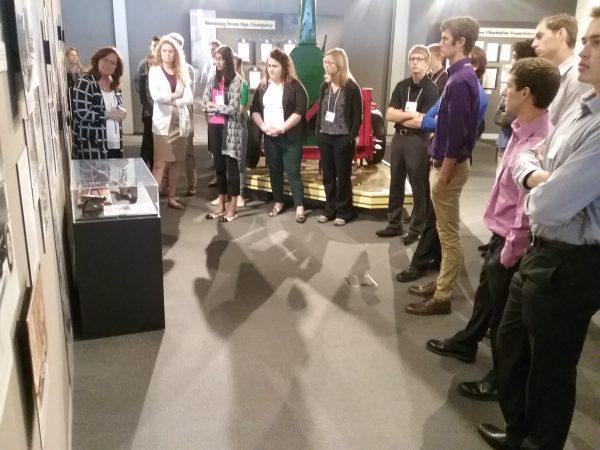 Members of the 2016-17 VILP cohort tour the Vermeer museum in Pella, Iowa.