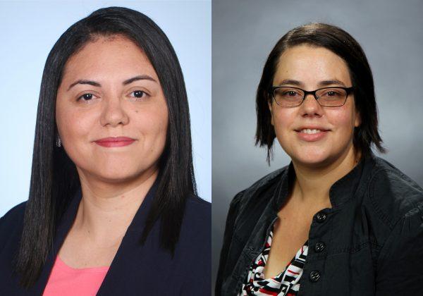 Abby Córdova and Annabella España-Nájera