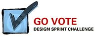 GO VOTE design challenge logo