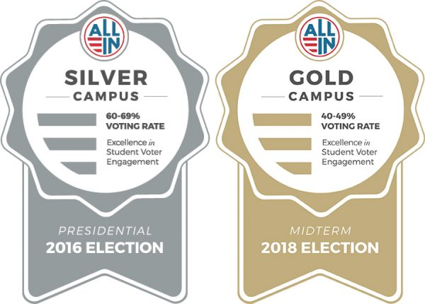 Silver Campus and Gold Campus Seal Awards